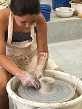 Kid's ceramic classes at Muddy's Studio